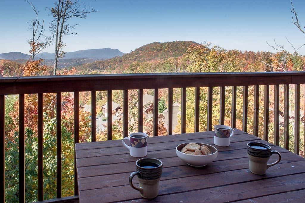 Beautiful Views From Main Floor  Deck/Perfect for that morning coffee