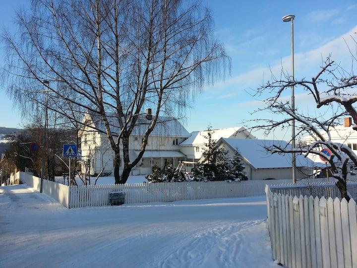 Lillehammer sentrum-Flott stor sveitservilla