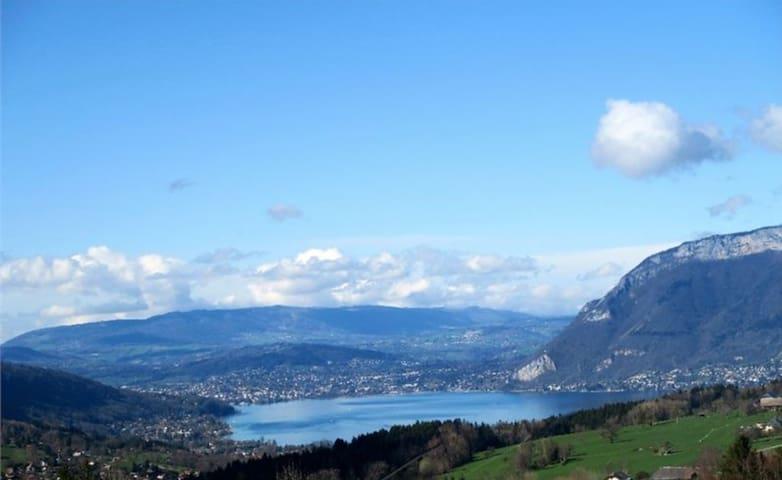 Annecy en vert et bleu !