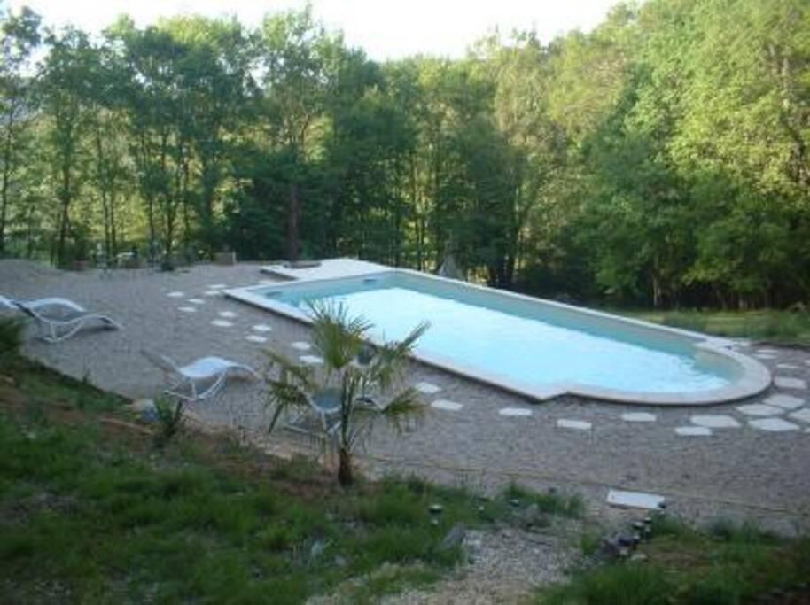 la piscine est ouvrte du 1 mai au25 septembre