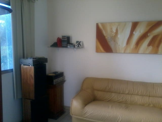rent a apt furnished for the cups - Belo Horizonte - Flat
