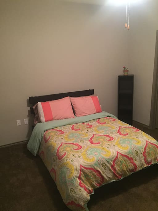 Queen Bed in bedroom #2