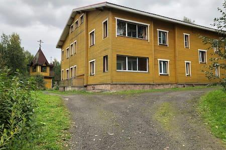 Апартаменты рядом с лечебными источниками