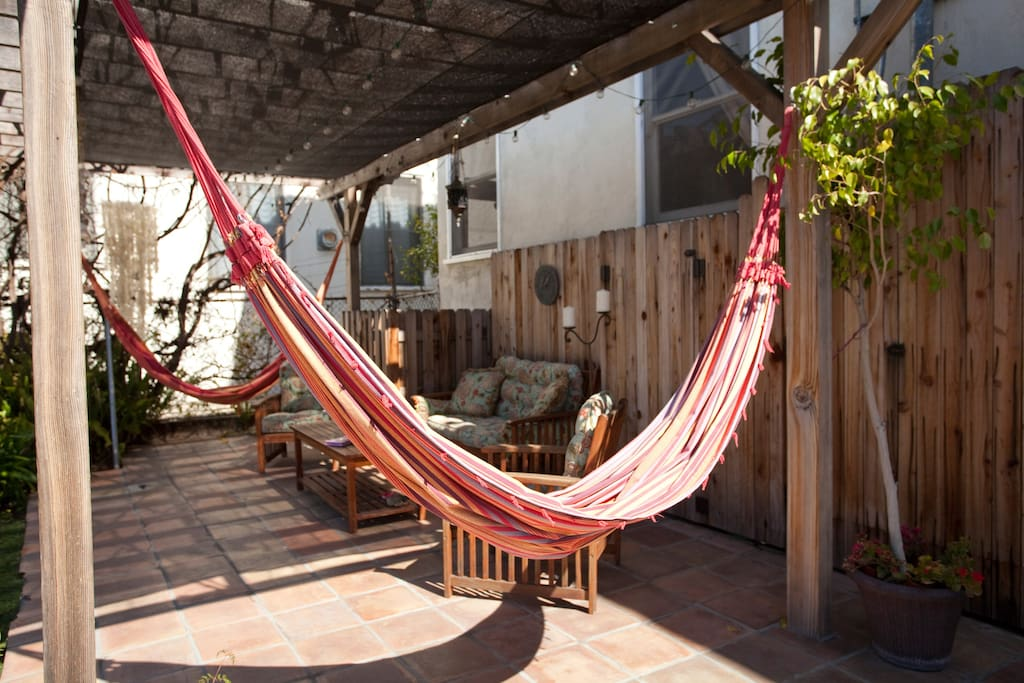 Hammocks are calling! Rest and relax...