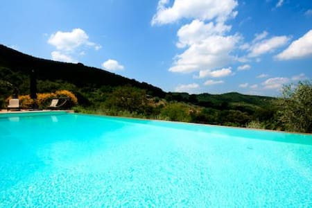 Sangiovese Eco home with Eco pool  - Paciano - Villa