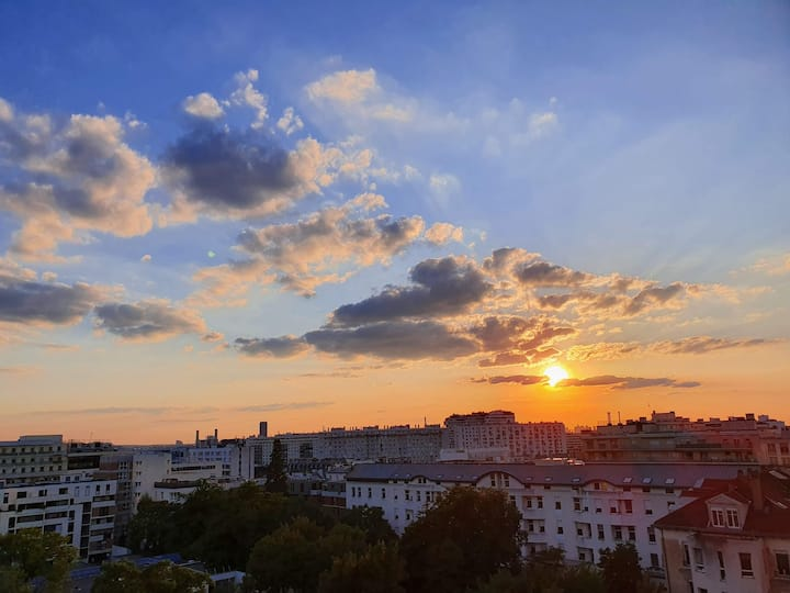 Appartement calme avec une très belle vue Paris 12