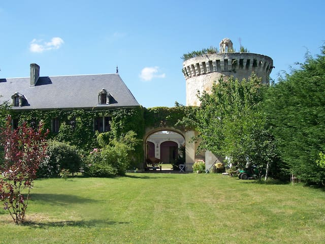 A UNIQUE PLACE LOIRE REGION - Les Trois-Moutiers - บ้าน
