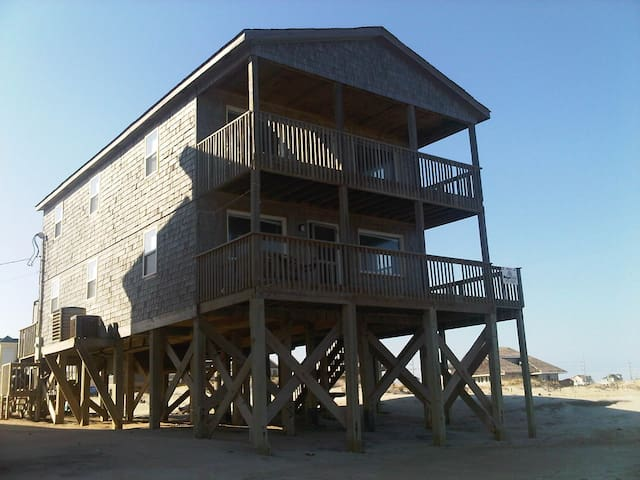 Ocean Front Incredible Rodanthe, Hatteras Is. home - Rodanthe - 一軒家