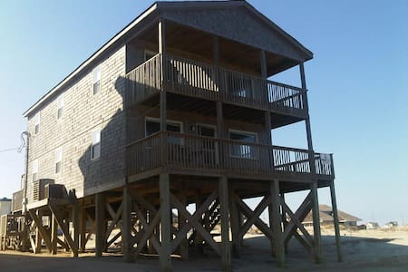 Ocean Front Incredible Rodanthe, Hatteras Is. home - Rodanthe - Huis