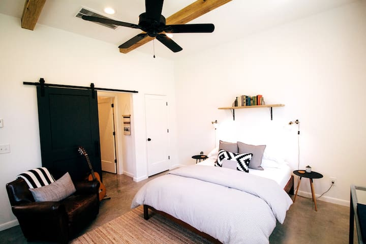 The Mill: A Modern Guesthouse in Downtown Franklin