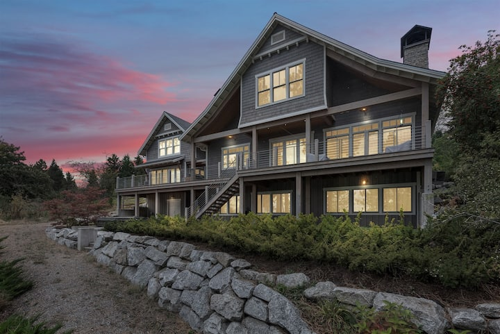 Private, Luxury, Waterfront Home - ESCAPE, Relax, Ski, Enjoy!