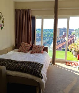Amazing panoramic view - private roof terrace - Bristol - Apartament