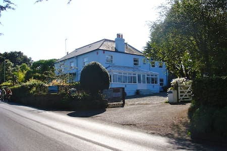 CHANNEL VIEW - Room 5 (Small Double/Single) - Stoke Fleming - Bed & Breakfast