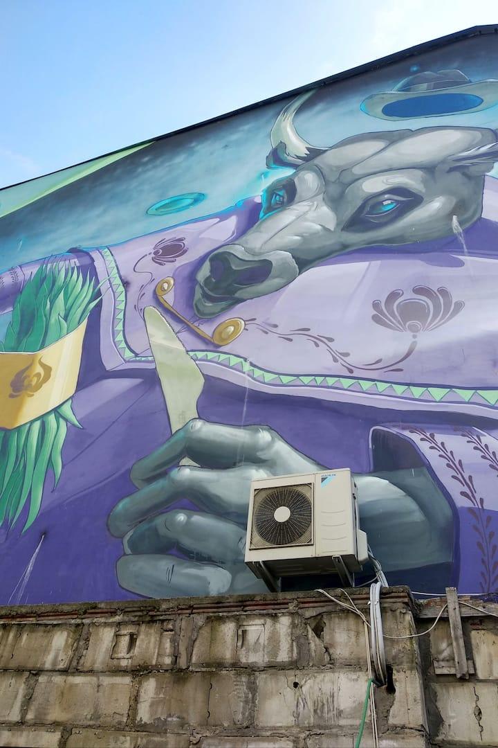 Mural in the Jewish Quarter