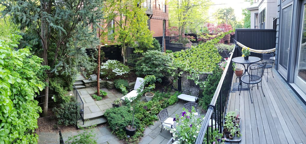 Garden-facing 1BR apt, walk to Fenway,BU,Longwood