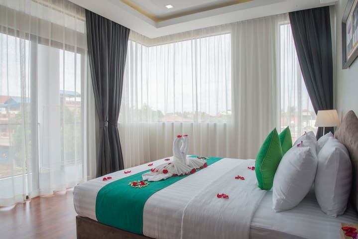 Leevid Residence for group up to 10 guests - Krong Siem Reap - Apartemen