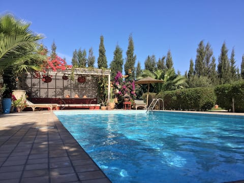 Charming villa with private pool and cooker