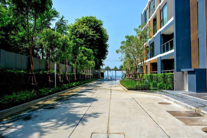 无敌海景 50米到海边 芭提雅新网红楼盘 Pattaya areas@youker
