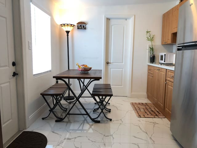 Small dining room and nice