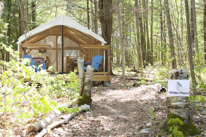White Pines Glamping Tent