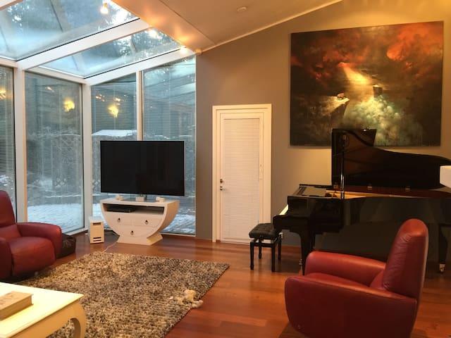 Sunny luxury house