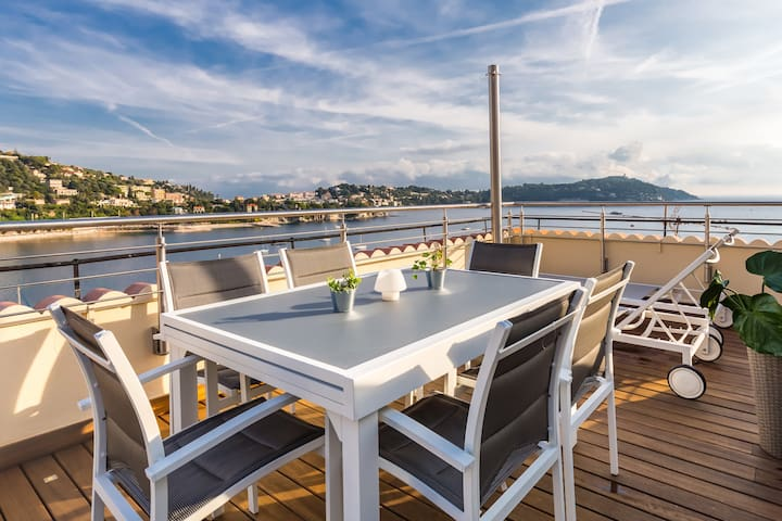 Amazing SEA VIEW UNIQUE in Villefranche sur Mer