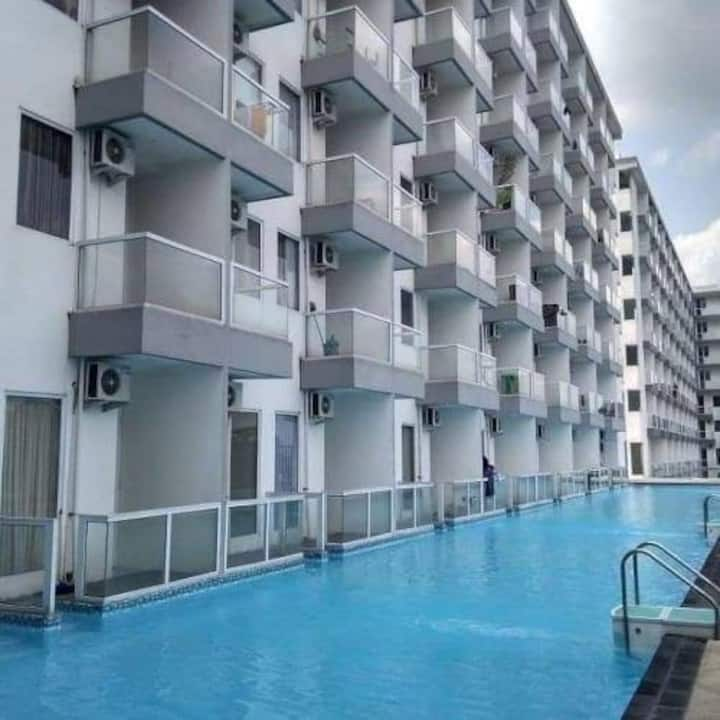 Apartment with pool and Views Sleman Yogyakarta