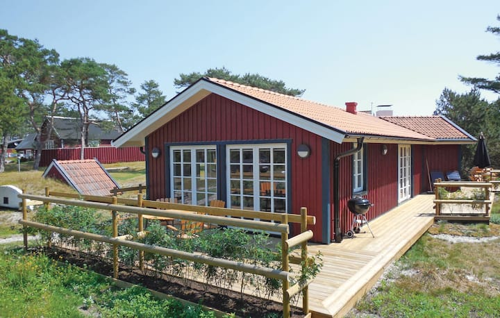 Beautiful home in Borrby with Sauna, WiFi and 2 Bedrooms