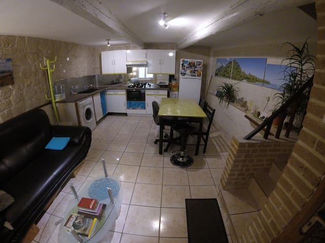 Maison de village sur 3 niveaux  Centre historique - Narbonne - Apartment