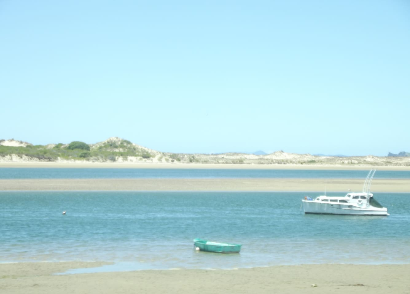 Arriving at Ngunguru Estuary