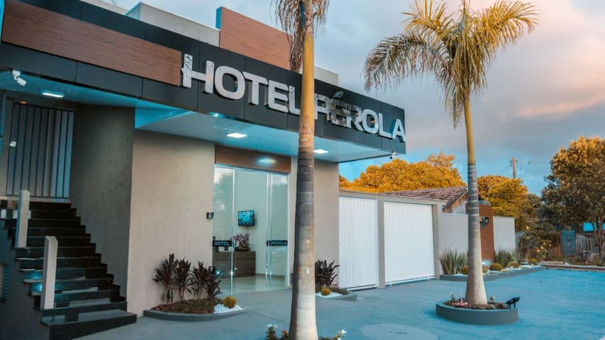Hotel Pérola fica na cidade de Pérola Pr.