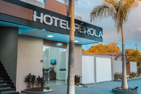 Hotel Pérola o melhor atendimento da região.
