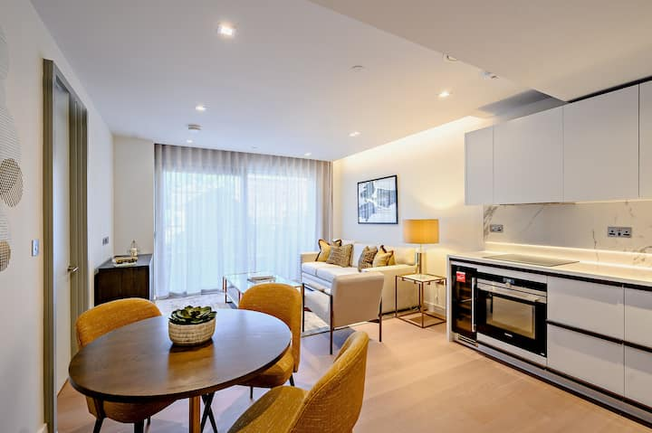 Bright, Stylish 1 bed close to Iconic Hyde Park