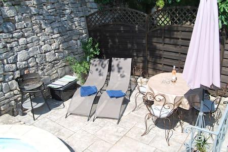 Les Figuiers - 2 bedroom apartment, pool & terrace - Vézénobres - Διαμέρισμα