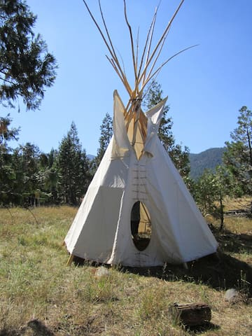Tipi retrait in the wilderniss - Weed - Tepee