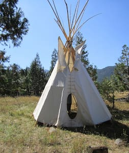Tipi retrait in the wilderniss - 威德(Weed)