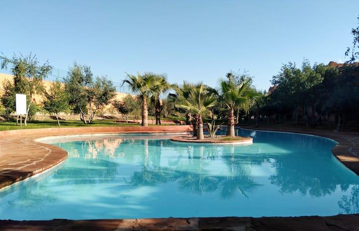 Charmante Villa au coeur de la Palmeraie Marrakech
