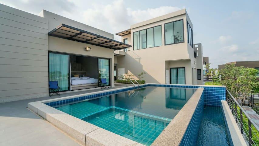 Pattaya Private Pool,Villa Ozone No.30