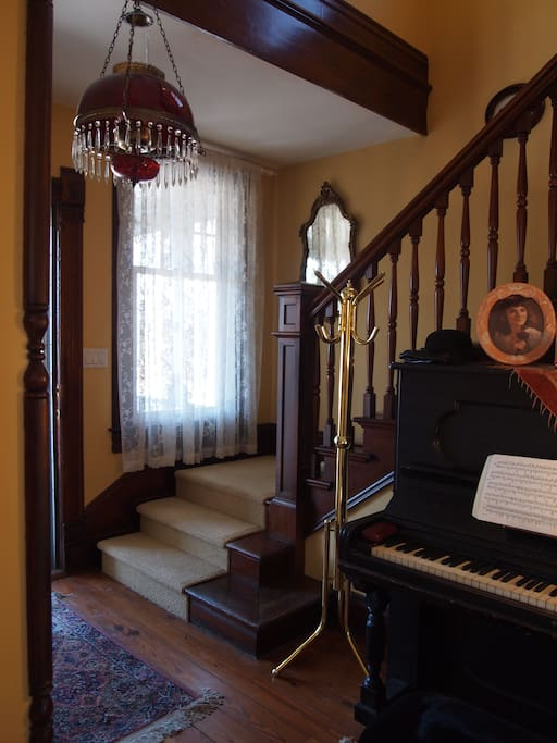 Front Entrance stair case