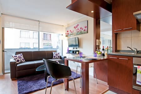 CHARMING DOWNTOWN FLAT ♥ SANTIAGO 1 to 3 GUESTS - Santiago