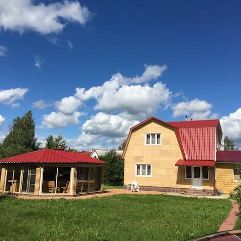 Cozy cottage with sauna Tuchkovo