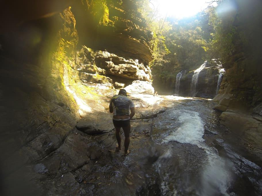 Cachoeira dos Anjos e Racha da Zilda.