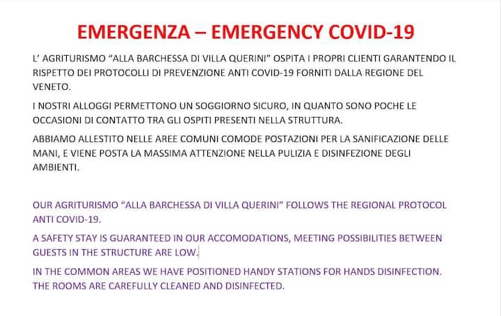 OPEN! Villa Querini A, strategic for visit Venice