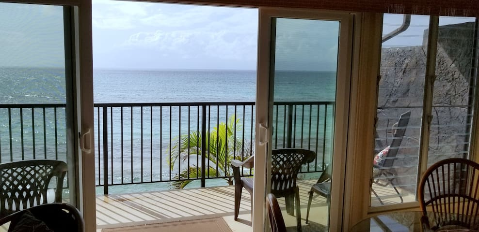 Turtle Haven! Fab Ocean View Over Ocean! 2bd/1 bth