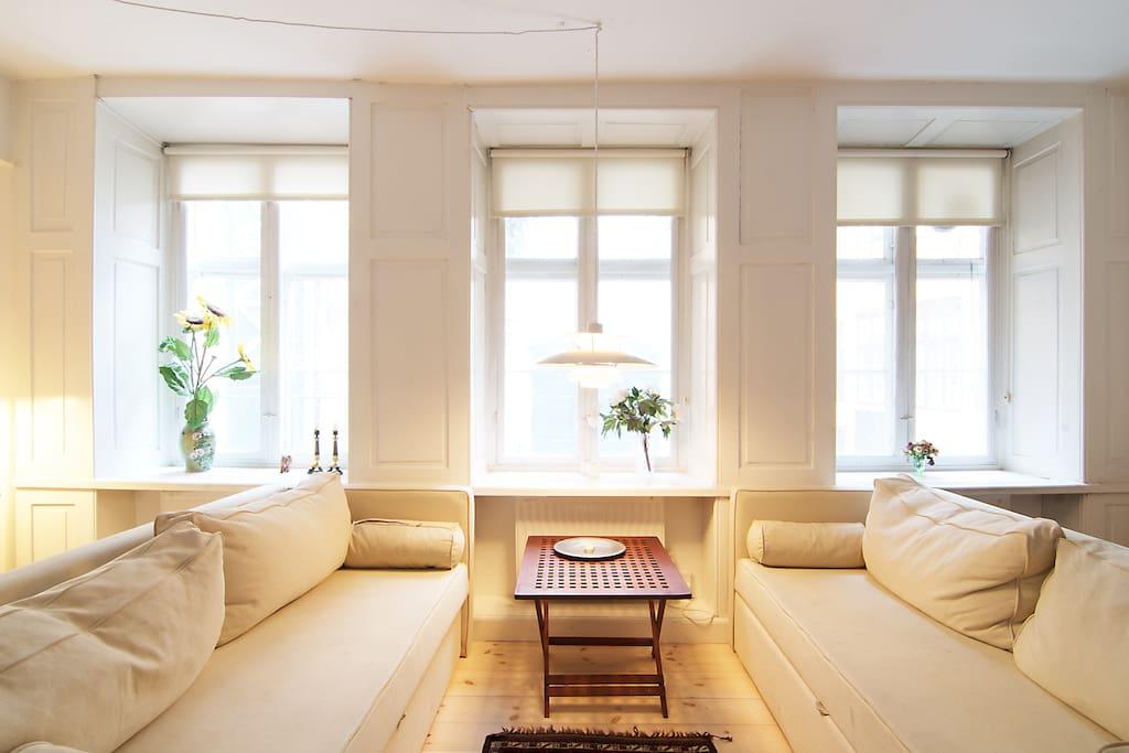 Wonderful apt right in the city wohnungen zur miete in for Kopenhagen unterkunft