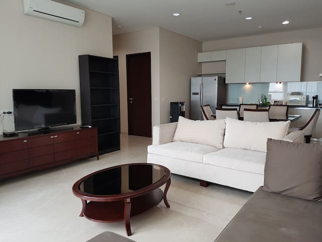 Clean and Spacious 2 Beds + 2 Baths in Senayan
