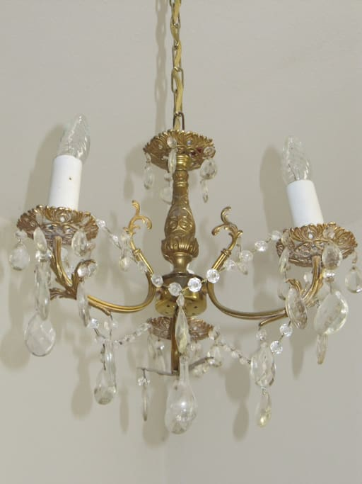 My small chandelier from the 1920ies