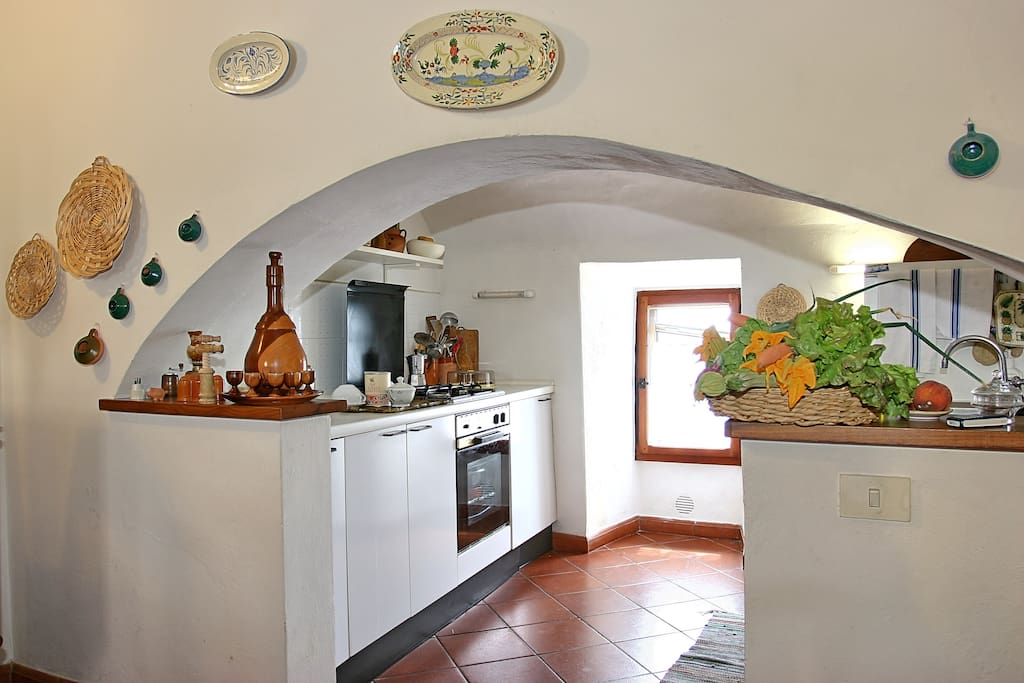 Kitchen in the tower