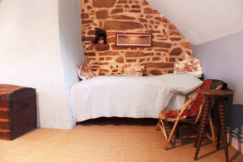 chambre marine, lit 1pers