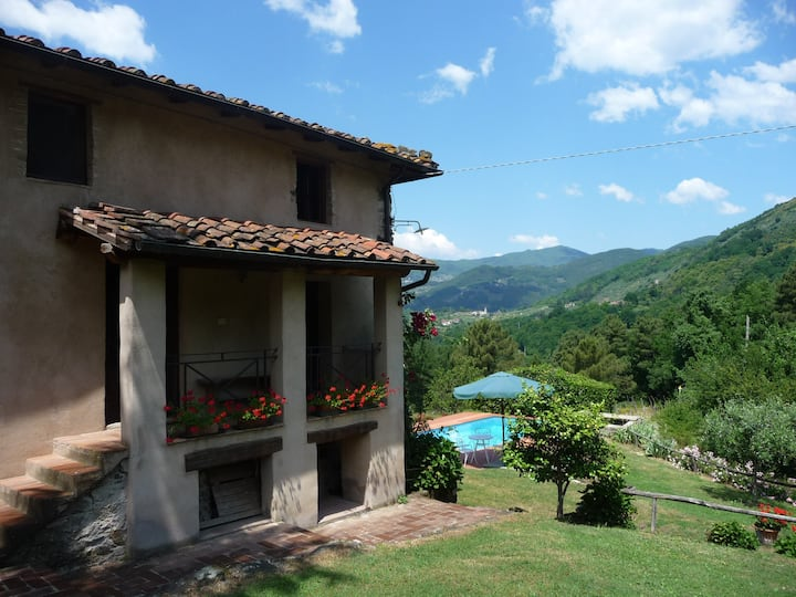 House in the hills of Lucca